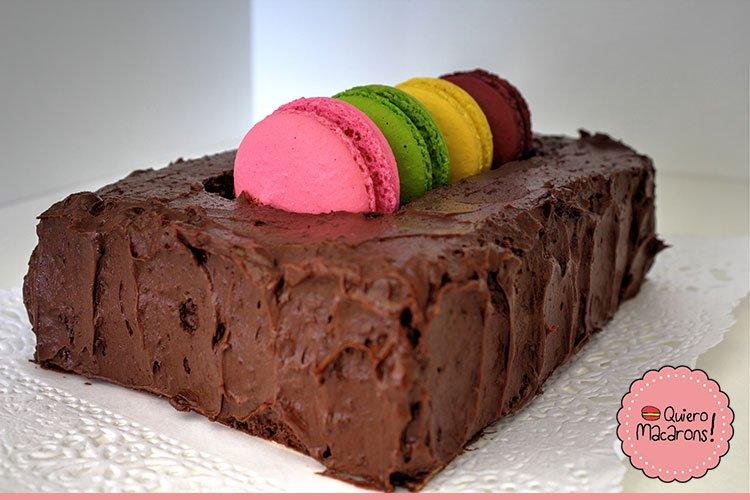 Torta Caja de Macarons