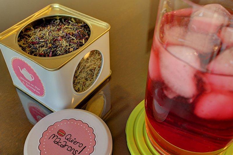 Te Quiero Macarons - Te hibiscus lemongrass