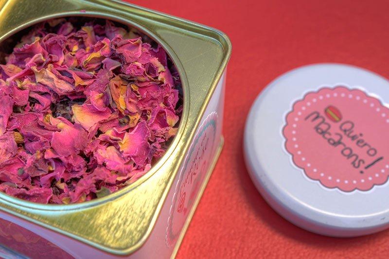 Amor en Rosa Té Quiero Macarons