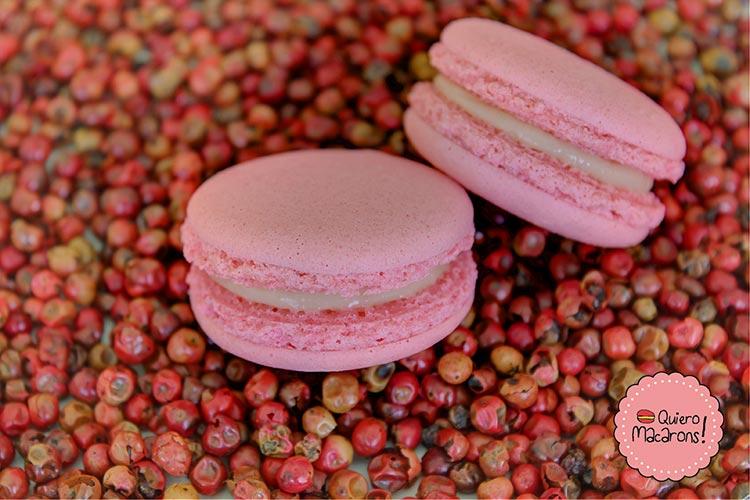 Macaron Pimienta Rosa