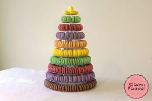 Torre de Macarons Piramide